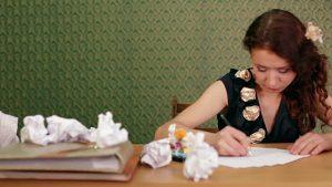 Boek schrijven en interne criticus