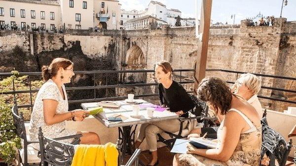 schrijfretraite-spanje-boek-schrijven-Schrijfweken-Spanje-levensverhaal-schrijven-met-Brenda-van-Es-100jaarnavandaag.com-ronda