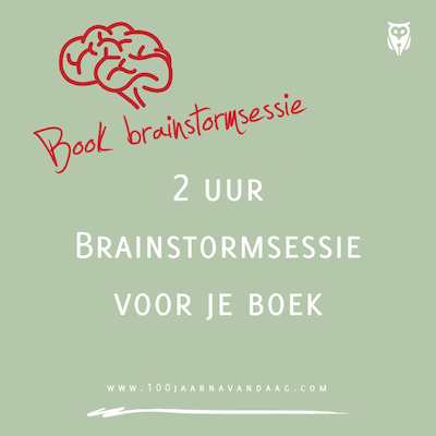 Book brainstormsessie