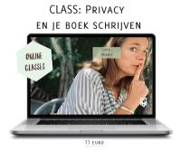 schrijfcursus online Class Privacy en je boek schrijven